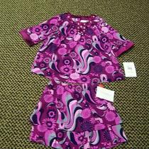 Kc Parker Girls 2 Piece Matching Skirt and Top Set Size 5 Nwt Photo