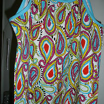Kc Parker  Jr 16  Bright Colorful Paisley Print Cami/top  Nwt 36.00 Photo
