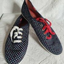 Ked's 4th of July Navy Blue With Stars Women Sneakers Size 8 Photo
