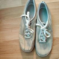 Ked's Womens Spirit Neutral Leather Sneaker Shoe Size 10 Pre Owned Slightly Used Photo