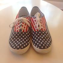 Keds American Flag Tennis Shoes Size 8.5  Us  Photo