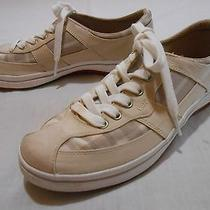 Keds  Beige  Canvas Tennis Shoes  Women's   8 Photo