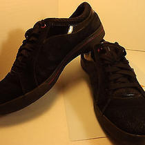 Keds Bolt Womens Size 9 Black Canvas Sneakers Shoes Arch Support Uk 6.5 Eur 40.0 Photo