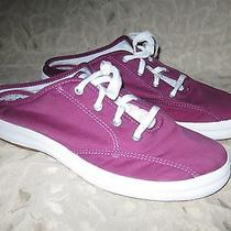 Keds Briggsy Mules. Pink. Sz 8.5. Lightly Worn.  0627 Photo