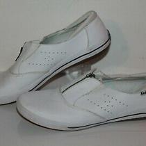 Keds Casual Sneakers Wh52739 White Leather Womens Us Size 8 Photo