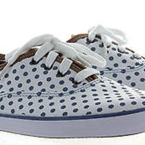 Keds - Ch Dot - Women's Sneakers - Size 9m - Blue/white Photo
