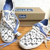 Keds Champion Bike Polka Dot Tennis Shoes Sneakers White/black Size 7 Nib Photo