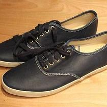 Keds Champion Blue Leather Shoes - Urban Outfitters (Like New/worn Once) Photo