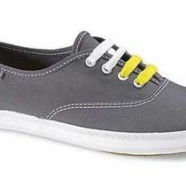 Keds Champion Canvas Originals Graphite Womens Sneakers Size 9.5 M Photo