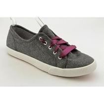 Keds Champion Celebrity Womens Size 9.5 Gray Textile Athletic Sneakers Shoes Photo