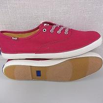 Keds Champion Oxford Wf51831 Burgandy Women's Canvas Sneakers Size 7.5m Nib Photo