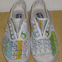 Keds Custom Shoes Women 7 Periodic Table Elements Chemistry Science Nerd Geek Photo