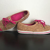 Keds for Kate Spade Corkie Sneakers Lipstick Pink Shoe Limited Edition New York Photo