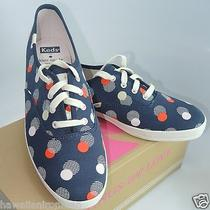 Keds for Kate Spade New York Kick Navy Seaport Dot Canvas Sneaker Sz 9m Photo