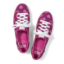 Keds for Kate Spade New York Rally Apple Sneakers Pink Size 6.5 - New in Box Photo