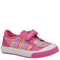 Keds Girls Glittery-Kitty (Infant-Toddler) Sz 8.5m Photo