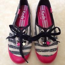 Keds Girls Shoes Stripe Size 1 Photo