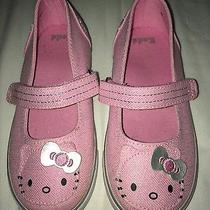 Keds Girls Toddler Hello Kitty Sanrio Mary Jane Velcro Flats Tennis Shoes 10.5 Photo