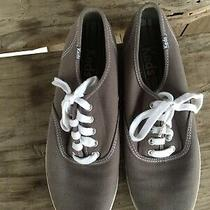 Keds Gray  Sneakers Lace Up Casual Canvas Men's Size 9 M Photo