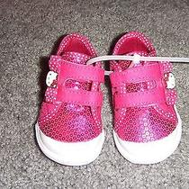 Keds Hello Kitty Velcro Baby Girls  Size 2 M  New  Free Ship Photo
