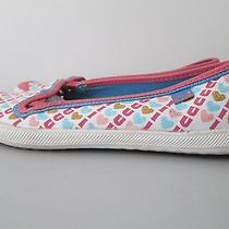 Keds  I Love You Women's Slip on Flat Fabric Sneakers Pink  Size 8 Photo