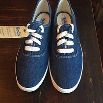 Keds in Denim Chambray Sz. 6 Vintage but Unused Like New Condition. ) Photo