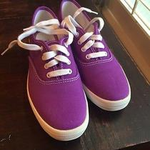 Keds in  Purple Sz. 6 Vintage but Unused Like New Condition. ) Photo
