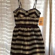Keds Junior Medium Striped Bustier Taffeta Dress Photo