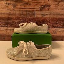 Keds - Kate Spade New York Champion Glitter Cream Sneakers Women 9w- Wf53272m Photo