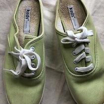 Keds Laceless Slip on Moxie Mule Sneakers Green 5m Photo