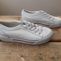 Keds Leather Low Top Shoes White Women's Size 7 Photo