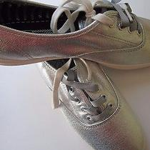 Keds Metallic Silver Womens Sneakers Size 10 Photo
