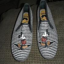 Keds Mickey Mouse Cute Slip on Sneakers Sz 6m 6 Photo