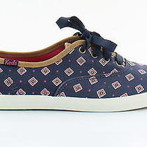 Keds New Tie Print Multi Womens Shoes Size 7 M Flats Msrp 50 Photo