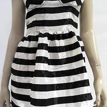 Keds New Womens L Corset Back High Waist Baby Doll Dress Micro Mini Chop 4ihlz1 Photo