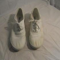 Keds Originals Woman's White Sneakers Size 8 1/2 Really Good Condition 3218 Photo