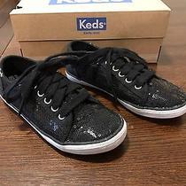 Keds Rally K Sequins Little Kid/big Kid Black Sneakers - Sz 11.5 - Euc  Photo