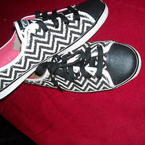 Keds Rally Zigzag Black 9.5m New in Box Photo