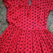 Keds Red Dress Sz S Photo