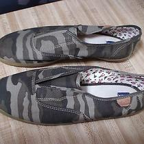 Keds Ripstop Women Olive Army Green Camo Athletic Sneakers Flats Sport Shoes 11 Photo