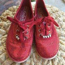 Keds Sequined Red Size 1  Photo