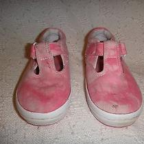 Keds Size Toddler 9m Pink Water Washed  Photo