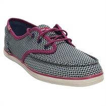 Keds Skipper Geo Blue/pink Womens Sneakers Size 8 M Photo