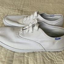 Keds Sneakers Girls Size 3 White Great Used Condition See Pictures Photo