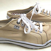 Keds Sneakers Tan Khaki Slip on Mules Women's 7.5  Photo