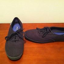 Keds Solid Black Size 8 Photo