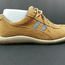 Keds Sporty Women's Size 7 Tan Suede Like Athletic or Walking Sneakers Shoes  Photo