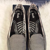 Keds Surfer Chambray Black Sneakers 8.5 Photo
