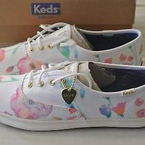 Keds Taylor Swift Flower Painting  Size 7 Photo