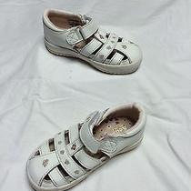Keds White Leather Children's Shoes (Size 7.5) Photo